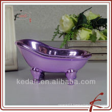 Ceramic luxury bath tub soap dish